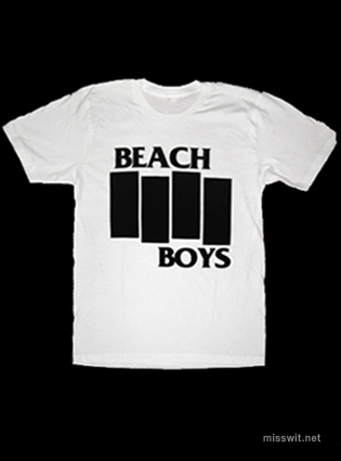 What Stores Accept Paypal Credit >> Miss Wit Designs Tees For Good Times | The Beach Boys Mash ...